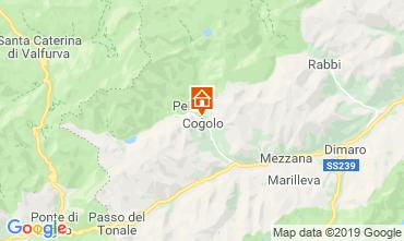 Map Peio (Pejo) Apartment 99494