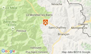 Map Serre Chevalier Apartment 66539