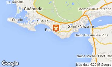 Map La Baule Villa 7228