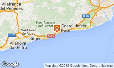 Map Barcelona Villa 95047