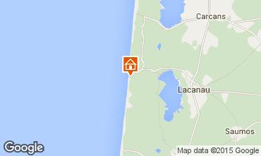 Map Lacanau Apartment 6698