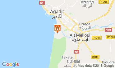 Map Agadir Unusual accommodation 117445