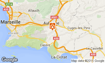 Map Cassis One-room apartment 8435