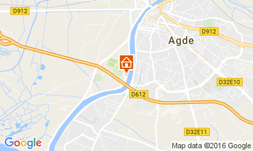Map Agde Mobile home 107471