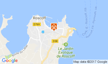 Map Roscoff House 108169
