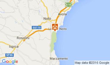 Map Noto Villa 105536