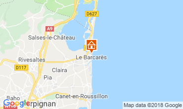Map Le Barcares House 112837