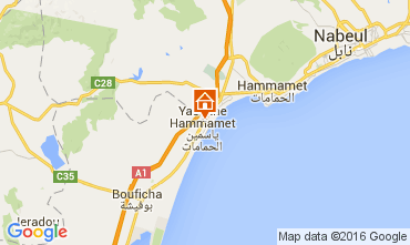 Map Hammamet Apartment 9929