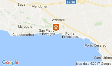 Map San Pietro in Bevagna Apartment 110788