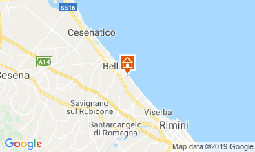 Map Bellaria Igea Marina Apartment 81806