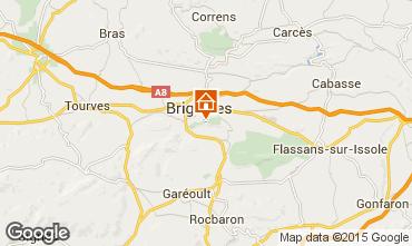 Map Brignoles Apartment 83625