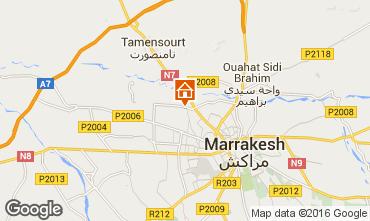Map Marrakech Apartment 89155
