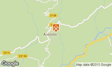 Map Aussois Apartment 61857