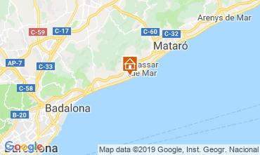 Map Mataró Apartment 117575