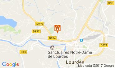 Map Lourdes Apartment 70129
