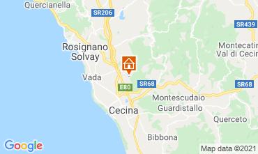 Map Cecina Apartment 109192