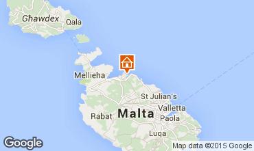 Map Valletta Apartment 94875