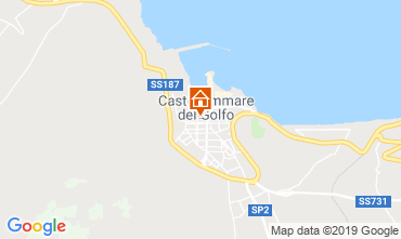Map Castellammare del Golfo Apartment 118813