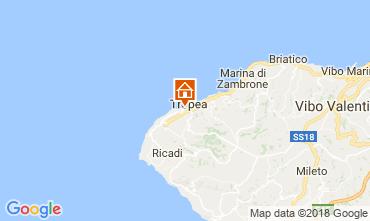 Map Tropea Apartment 113978