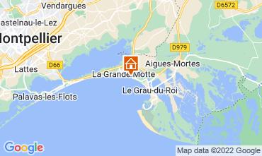 Map La Grande Motte One-room apartment 88600