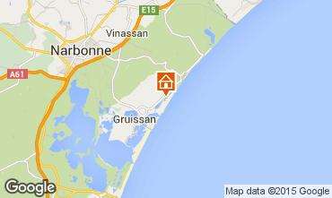 Map Gruissan House 76449