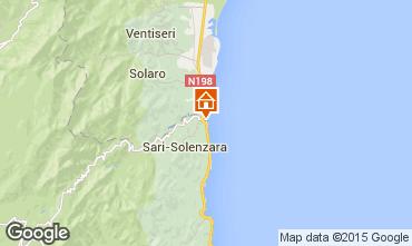 Map Porto Vecchio Apartment 81285