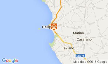 Map Gallipoli Apartment 103893