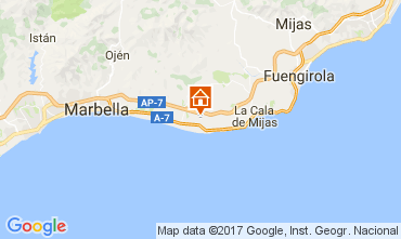 Map Marbella Apartment 107616