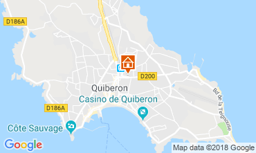 Map Quiberon House 116557