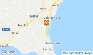 Map Noto Villa 118189