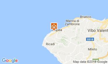 Map Tropea Apartment 114017