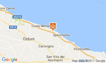 Map Ostuni Villa 101654