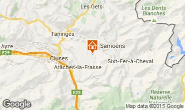 Map Morillon Grand Massif Apartment 64448