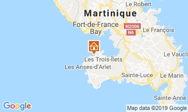 Map Trois Ilets One-room apartment 81817