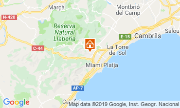 Map Cambrils House 117962