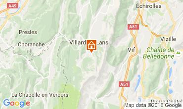 Map Villard de Lans - Corrençon en Vercors One-room apartment 74588