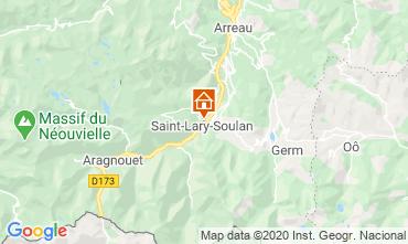 Map Saint Lary Soulan One-room apartment 102477