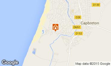 Map Capbreton Apartment 39273