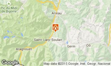 Map Saint Lary Soulan Vacation rental 80216