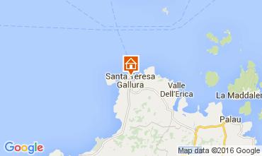 Map Santa Teresa di Gallura Apartment 105883