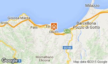 Map Oliveri Apartment 41625
