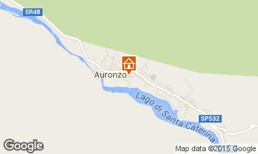 Map Auronzo di Cadore Apartment 95424