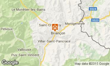 Map Briançon Apartment 81119