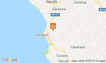 Map Gallipoli Villa 118430