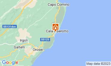 Map Cala Liberotto Apartment 16510