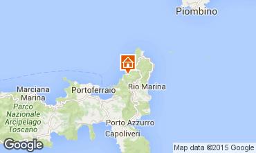 Map Rio nell'Elba Apartment 77662