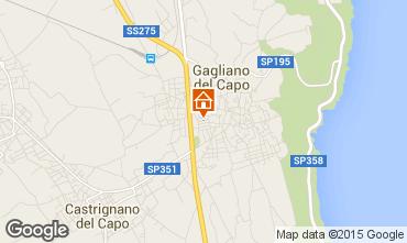 Map Gagliano del Capo Apartment 87094