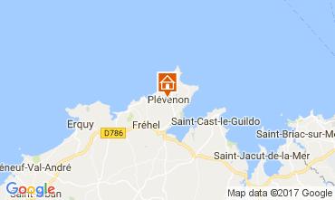 Map Frehel Vacation rental 112236