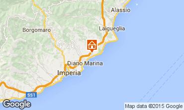 Map San Bartolomeo al Mare Apartment 50947