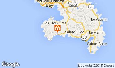 Map Le Diamant Apartment 97722